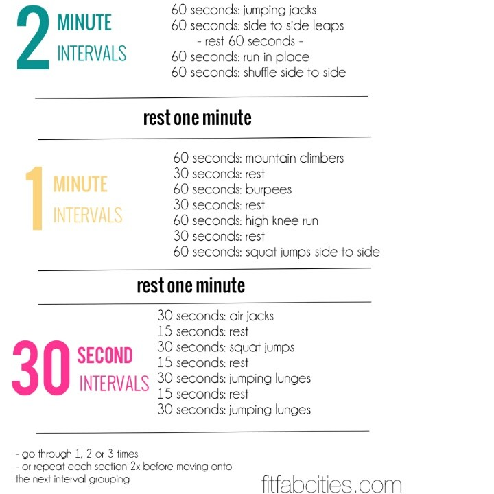 Great @ Home Workout