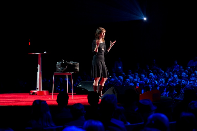 Susan Cain is an introvert—but did an incredible job at TED2012. We want to know: Take our poll to share your insights. Photo: James Duncan Davidson